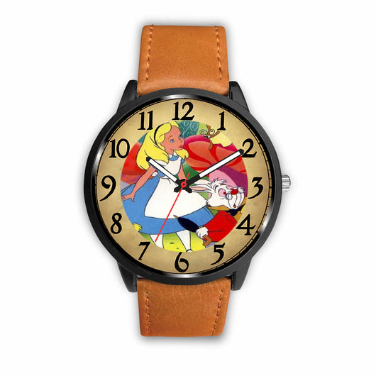 Limited Edition Vintage Inspired Custom Watch Alice Clock 3.A1
