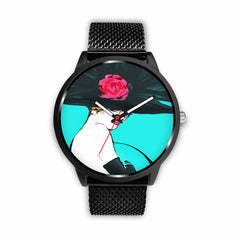 Image of Limited Edition Vintage Inspired Custom Watch Art Original 5.10
