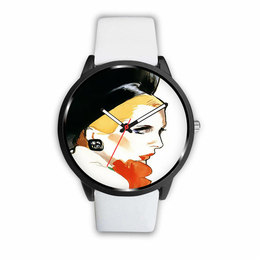 Limited Edition Vintage Inspired Custom Watch Art Original 5.15