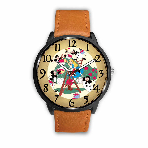 Limited Edition Vintage Inspired Custom Watch Alice Clock 3.A2