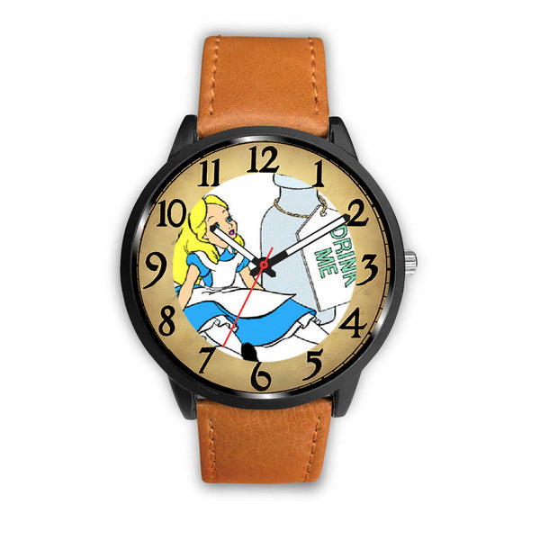 Limited Edition Vintage Inspired Custom Watch Alice Clock 3.A11