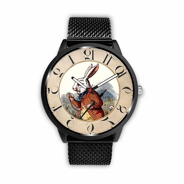 Limited Edition Vintage Inspired Custom Watch Alice Clock 5.6