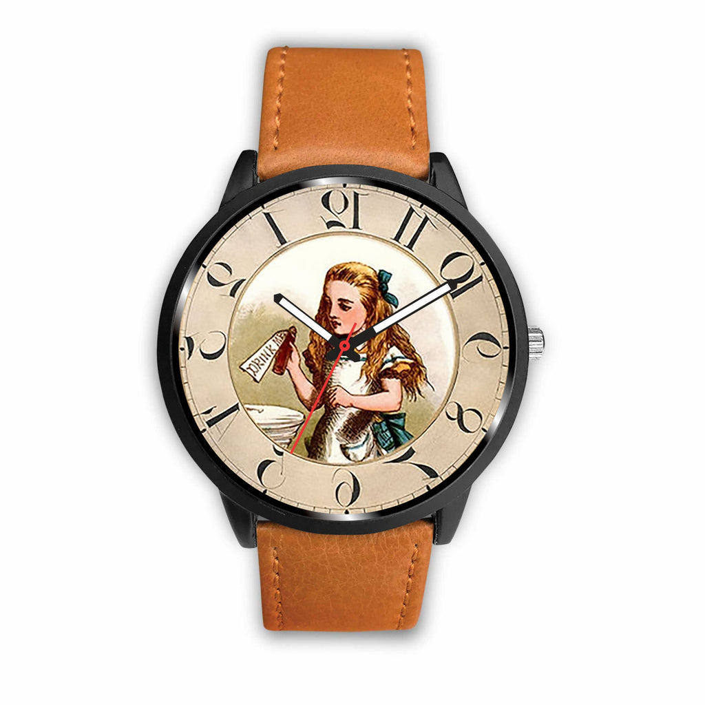 Limited Edition Vintage Inspired Custom Watch Alice Clock 5.9