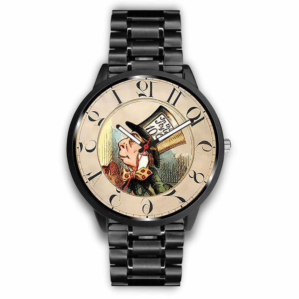 Limited Edition Vintage Inspired Custom Watch Alice Clock 5.14