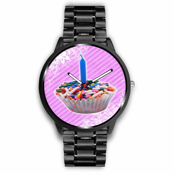 Limited Edition Vintage Inspired Custom Watch Cupcakes 1.2