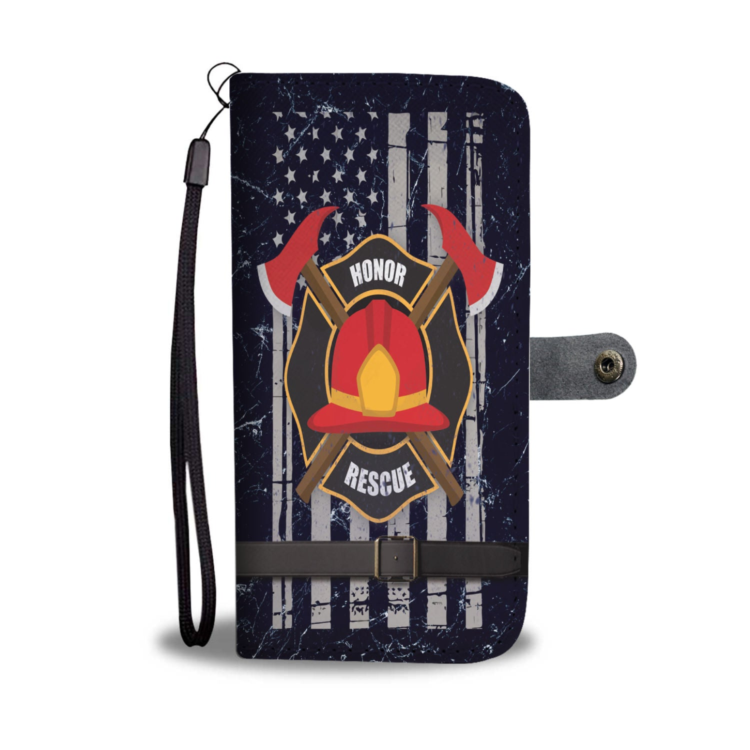Custom Phone Wallet Available For All Phone Models Honor Rescue Phone Wallet