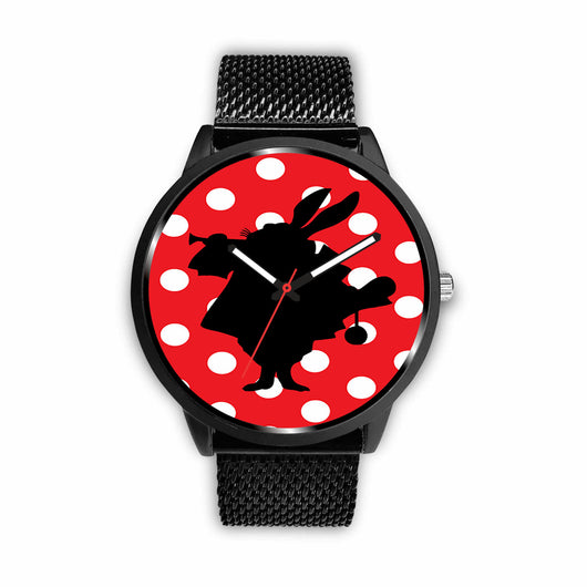 Limited Edition Vintage Inspired Custom Watch Alice Shadows 41.9