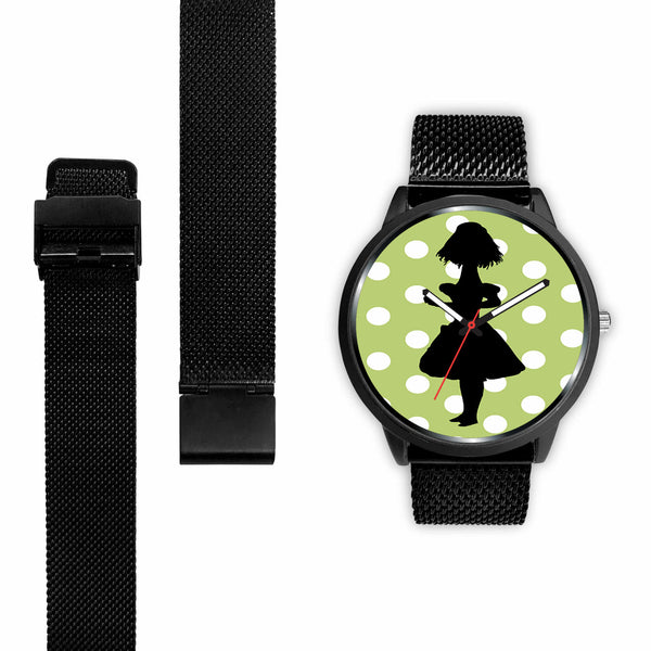 Limited Edition Vintage Inspired Custom Watch Alice Shadows 41.24