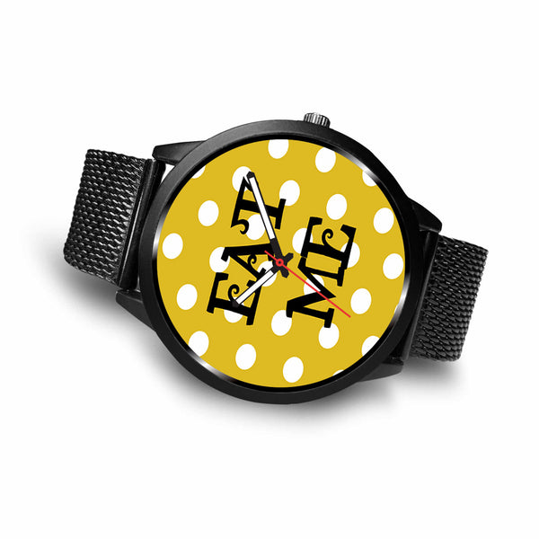 Limited Edition Vintage Inspired Custom Watch Alice Shadows 41.25
