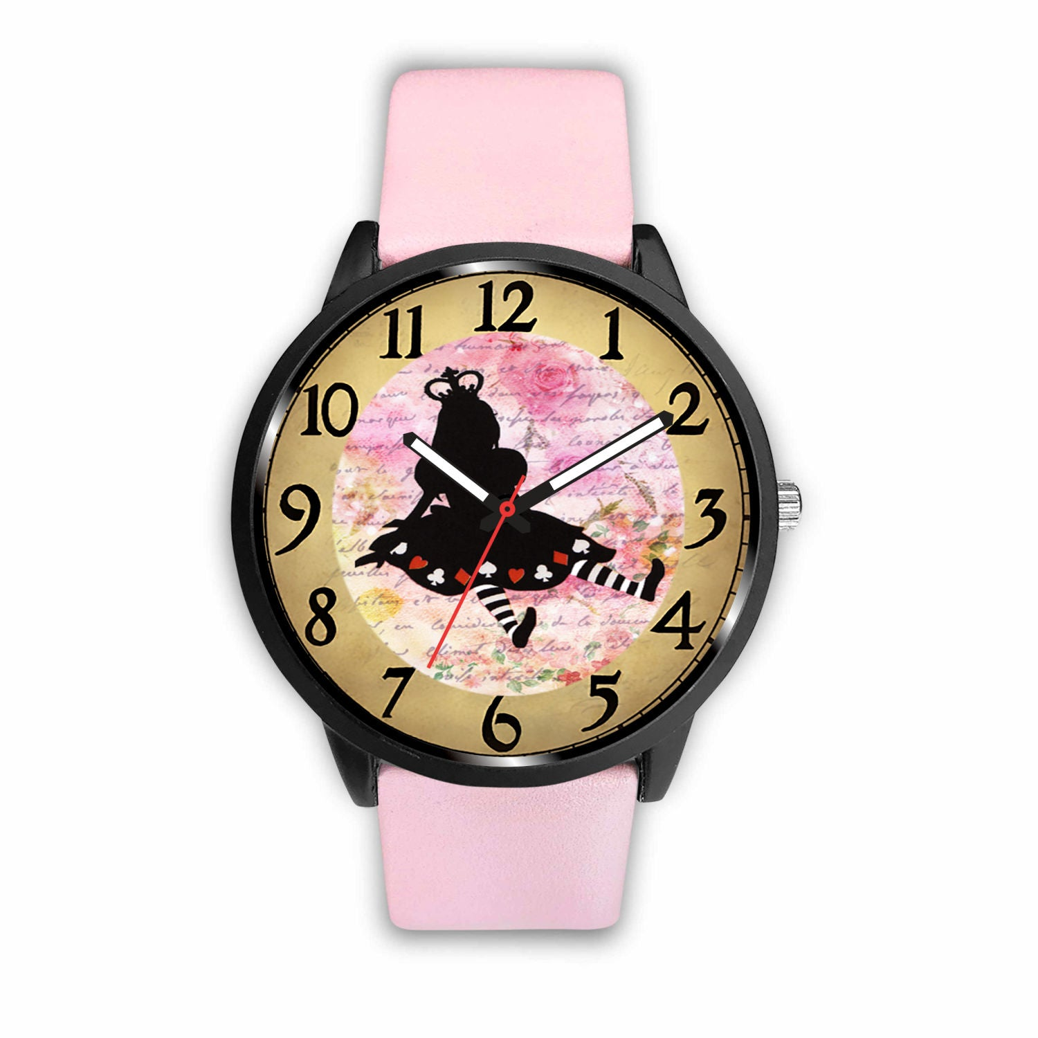 Limited Edition Vintage Inspired Custom Watch Alice Clock 9.3