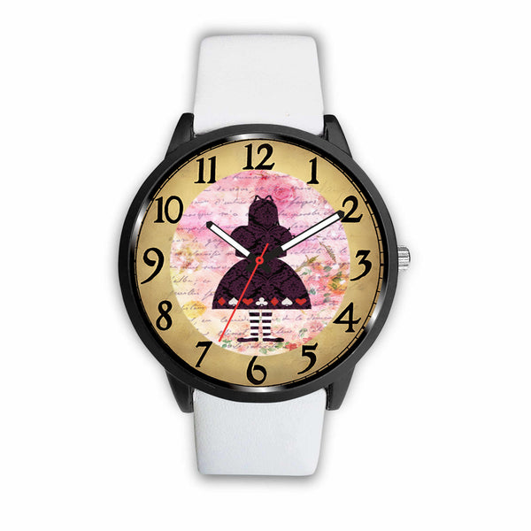 Limited Edition Vintage Inspired Custom Watch Alice Clock 9.10 - STUDIO 11 COUTURE