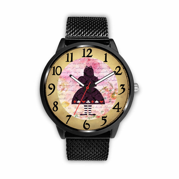Limited Edition Vintage Inspired Custom Watch Alice Clock 9.10