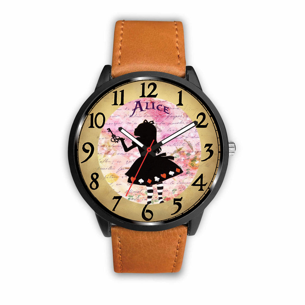 Limited Edition Vintage Inspired Custom Watch Alice Clock 9.12