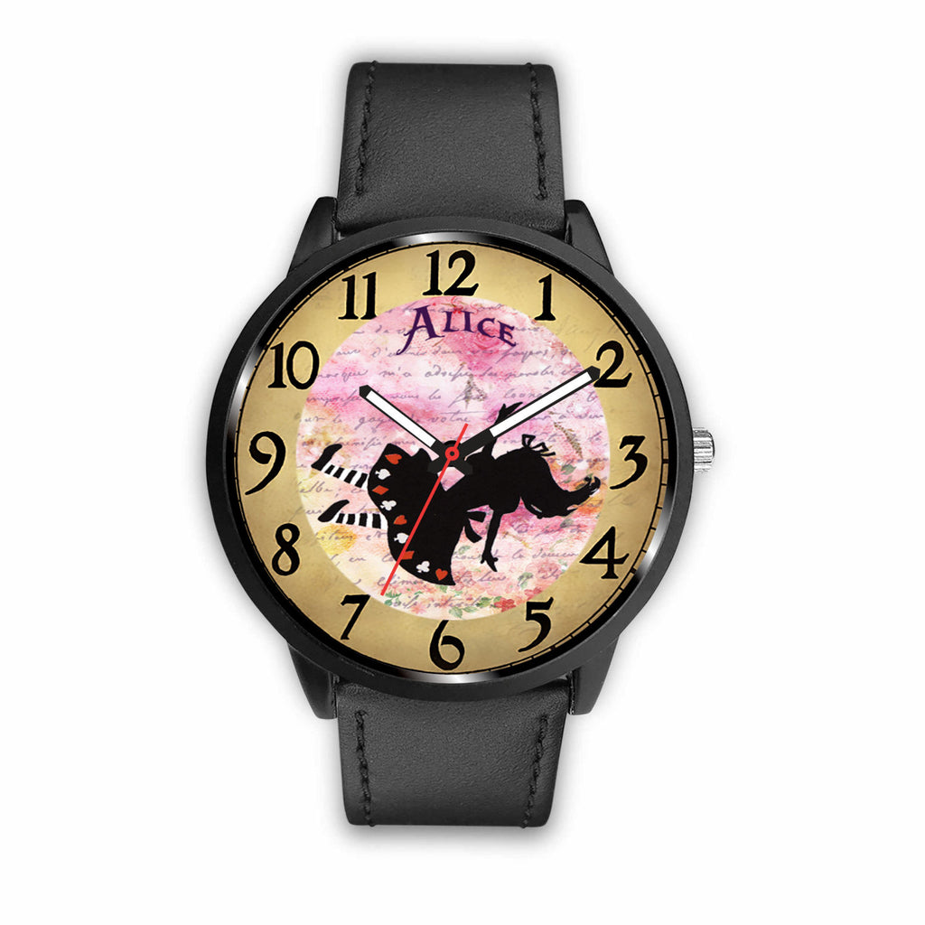 Limited Edition Vintage Inspired Custom Watch Alice Clock 9.18