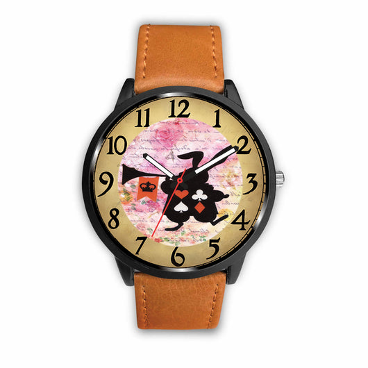 Limited Edition Vintage Inspired Custom Watch Alice Clock 9.20