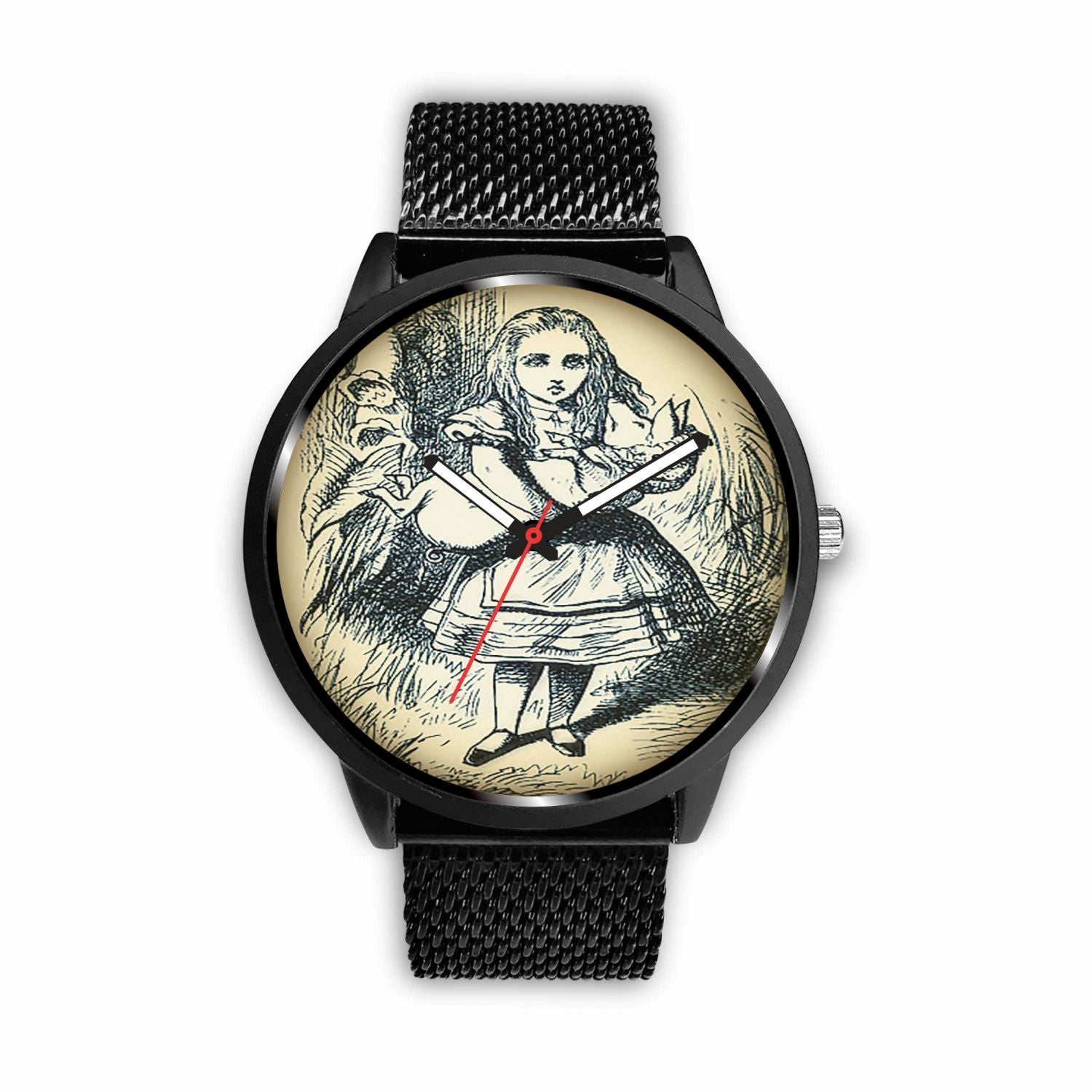 Limited Edition Vintage Inspired Custom Watch Alice 10.20