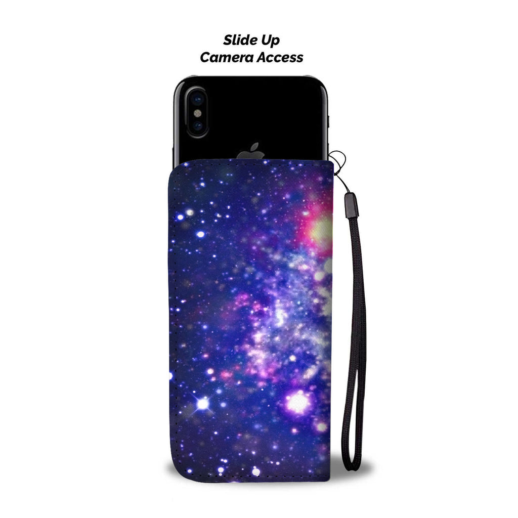 Custom Phone Wallet Available For All Phone Models Galaxy Fashion Phone Wallet - STUDIO 11 COUTURE