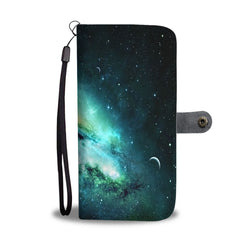 Custom Phone Wallet Available For All Phone Models Galaxy VII Fashion Phone Wallet - STUDIO 11 COUTURE