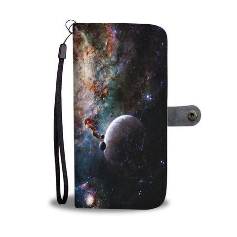 Custom Phone Wallet Available For All Phone Models Galaxy VIII Fashion Phone Wallet