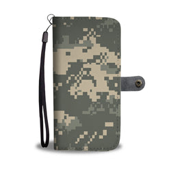 Custom Phone Wallet Available For All Phone Models Camouflage Phone Wallet - STUDIO 11 COUTURE