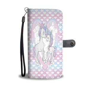 Custom Phone Wallet Available For All Phone Models Unicorn I Fashion Phone Wallet