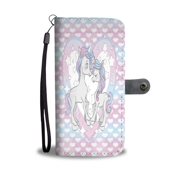Custom Phone Wallet Available For All Phone Models Unicorn I Fashion Phone Wallet - STUDIO 11 COUTURE