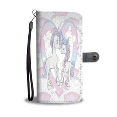 Custom Phone Wallet Available For All Phone Models Unicorn II Fashion Phone Wallet - STUDIO 11 COUTURE