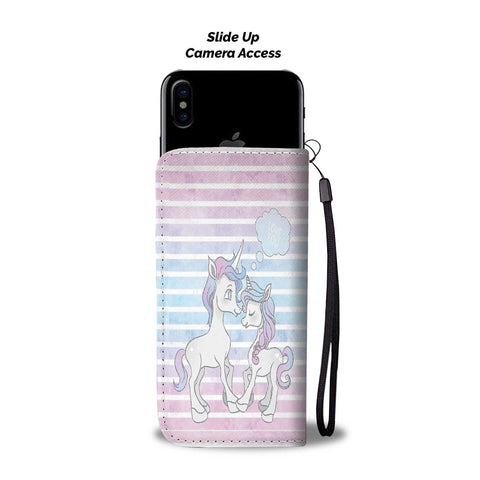 Custom Phone Wallet Available For All Phone Models Unicorn III Fashion Phone Wallet - STUDIO 11 COUTURE