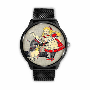 Limited Edition Vintage Inspired Custom Watch Alice 15.24