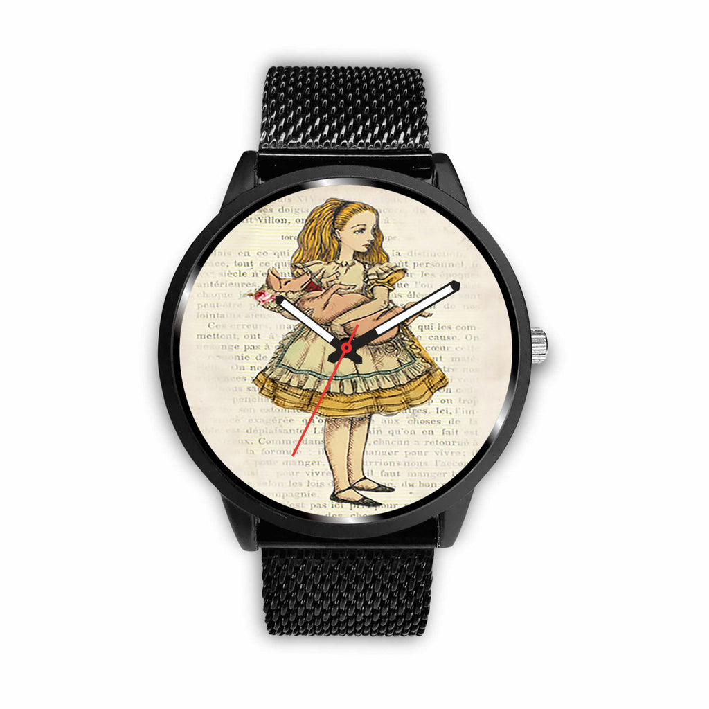 Limited Edition Vintage Inspired Custom Watch Alice 21.8