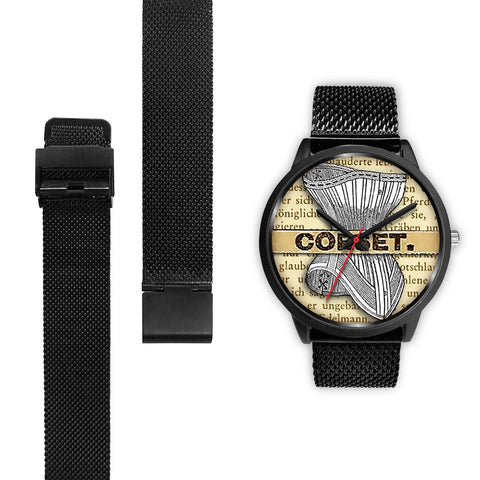 Limited Edition Vintage Inspired Custom Watch Corset 1.7