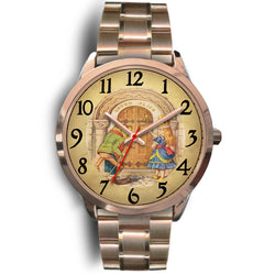 Limited Edition Vintage Inspired Custom Watch Alice Clock Face 1.27
