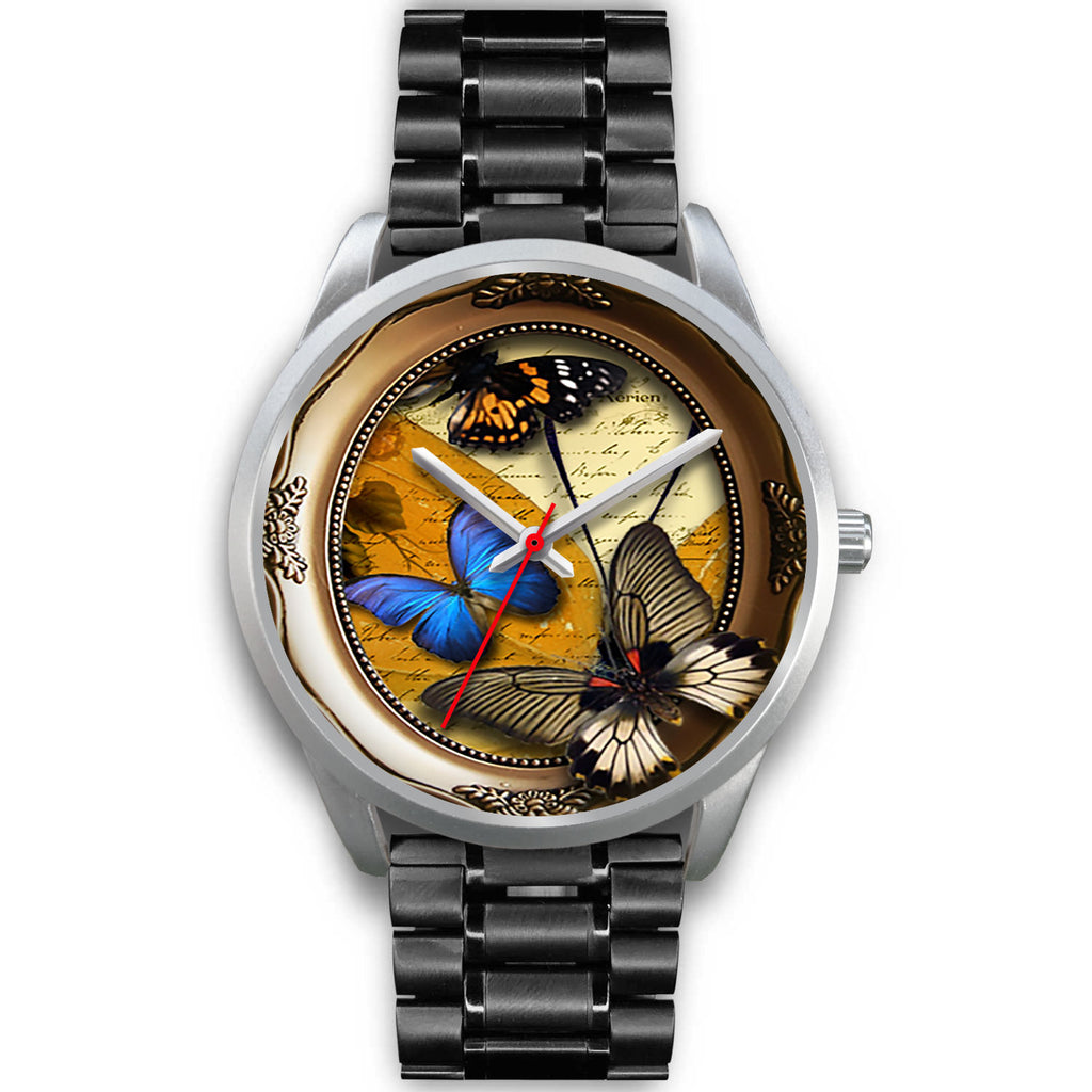 Limited Edition Vintage Inspired Custom Watch Butterfly Original 3.2 - STUDIO 11 COUTURE
