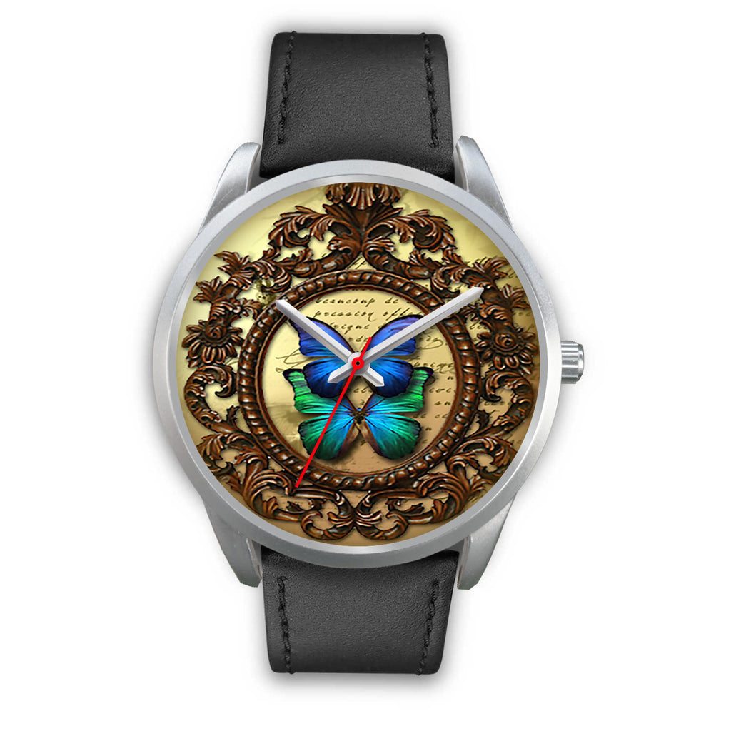 Limited Edition Vintage Inspired Custom Watch Butterfly Original 3.3
