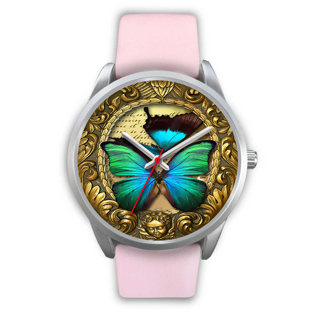 Limited Edition Vintage Inspired Custom Watch Butterfly Original 3.5