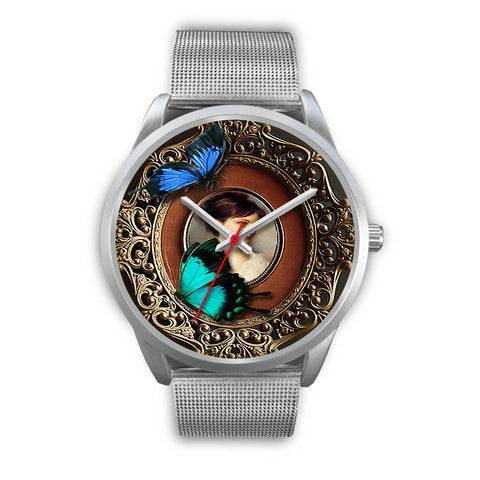 Limited Edition Vintage Inspired Custom Watch Butterfly Original 3.6