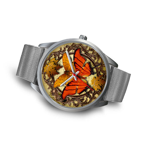 Limited Edition Vintage Inspired Custom Watch Butterfly Original 3.7