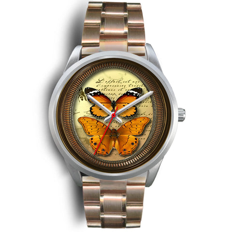 Limited Edition Vintage Inspired Custom Watch Butterfly Original 3.8