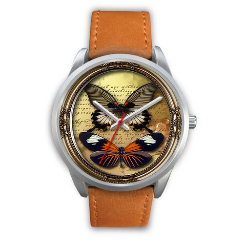 Limited Edition Vintage Inspired Custom Watch Butterfly Original 3.10