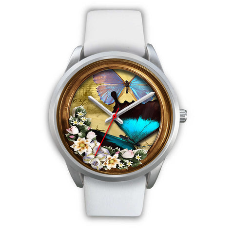 Limited Edition Vintage Inspired Custom Watch Butterfly Original 3.11