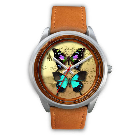 Limited Edition Vintage Inspired Custom Watch Butterfly Original 3.13