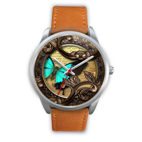 Limited Edition Vintage Inspired Custom Watch Butterfly Original 3.14