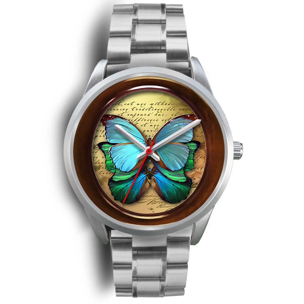 Limited Edition Vintage Inspired Custom Watch Butterfly Original 3.15