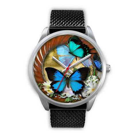 Limited Edition Vintage Inspired Custom Watch Butterfly Original 3.16