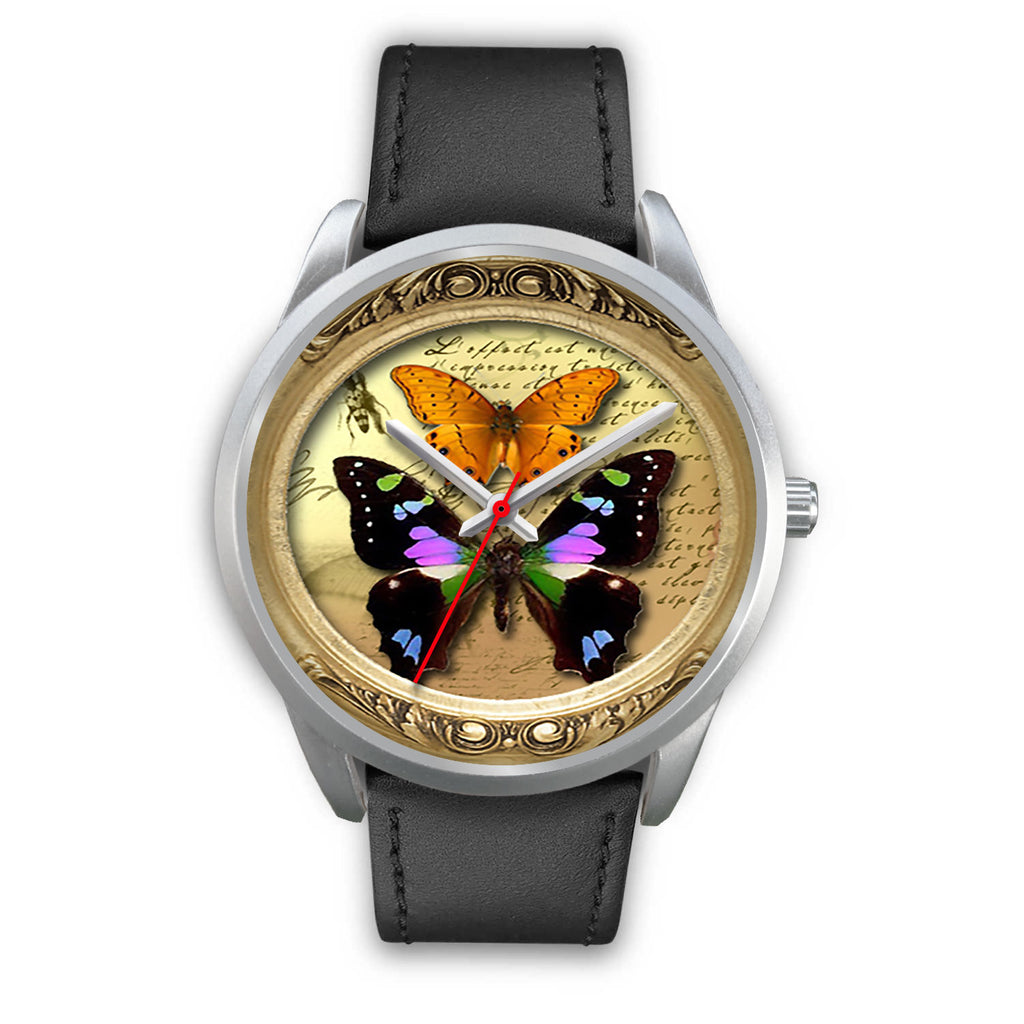 Limited Edition Vintage Inspired Custom Watch Butterfly Original 3.18