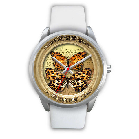 Limited Edition Vintage Inspired Custom Watch Butterfly Original 3.19