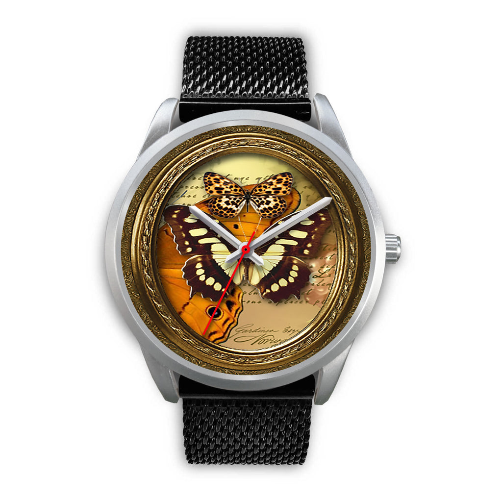Limited Edition Vintage Inspired Custom Watch Butterfly Original 3.20