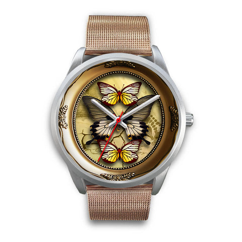 Limited Edition Vintage Inspired Custom Watch Butterfly Original 3.21