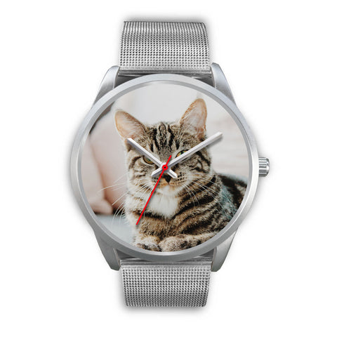 Custom Design Your Own Silver Watch Cat A2 With Your Personal Memory Photo