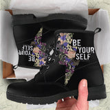 Be Yourself Womens Leather Boots